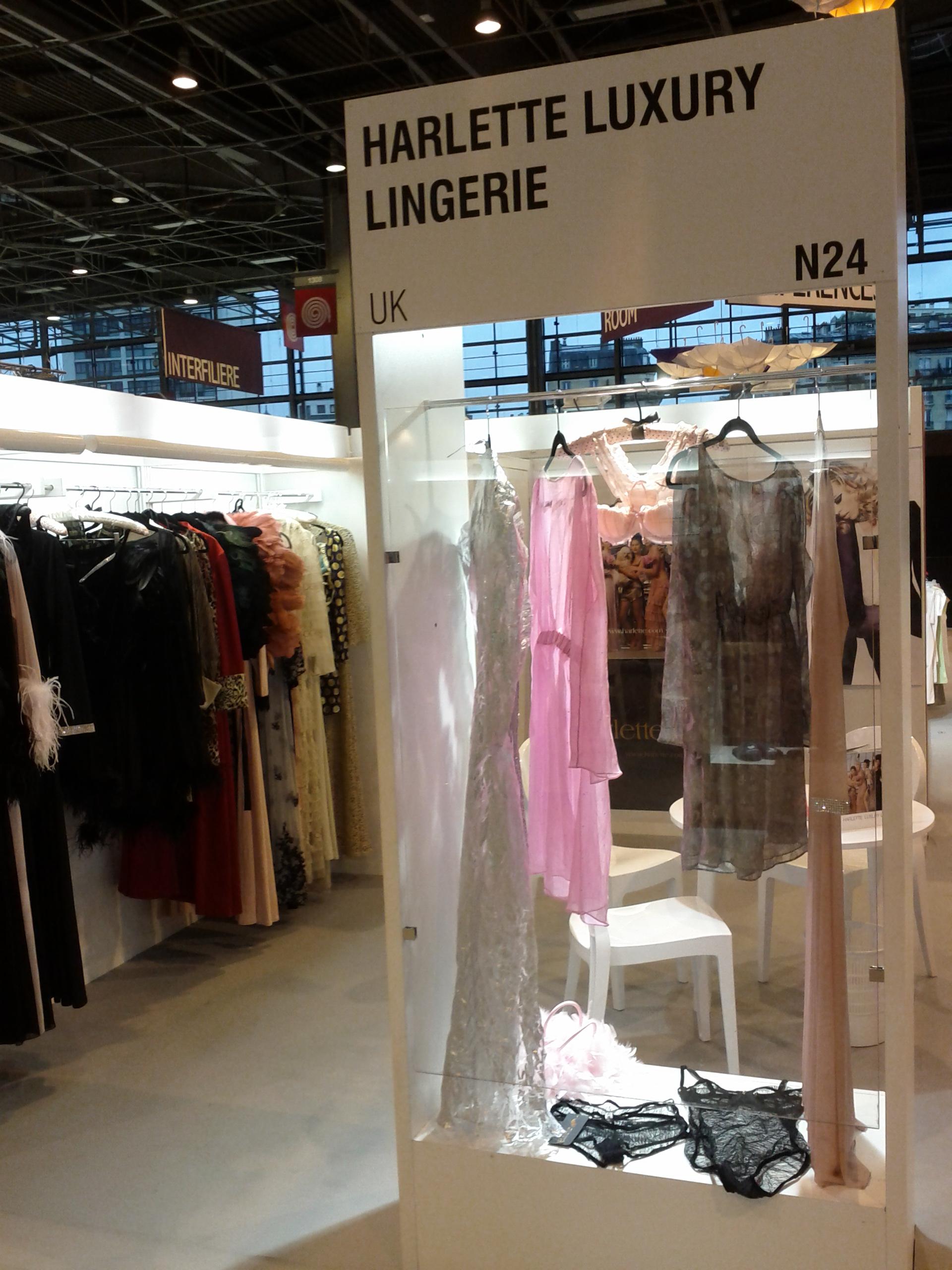 Paris lingerie show harlette luxury lingerie blog - Salon lingerie paris ...