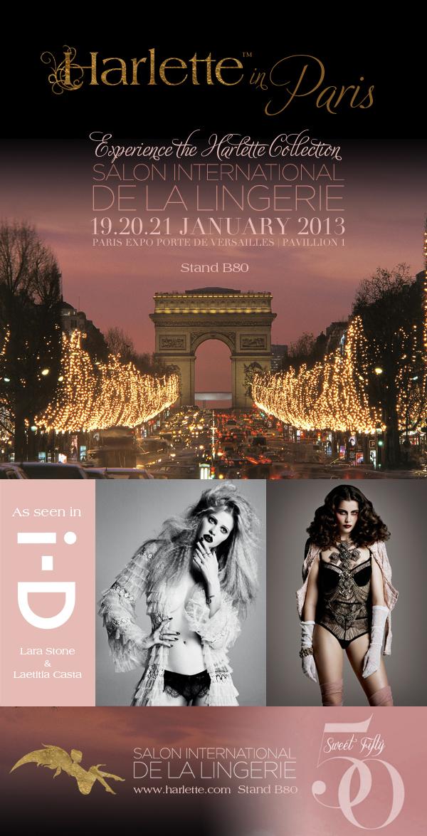 Luxury lingerie harlette luxury lingerie blog - Salon lingerie paris ...