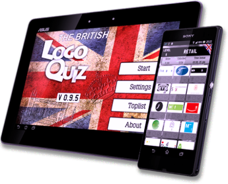 British Logo Quiz Selects Harlette