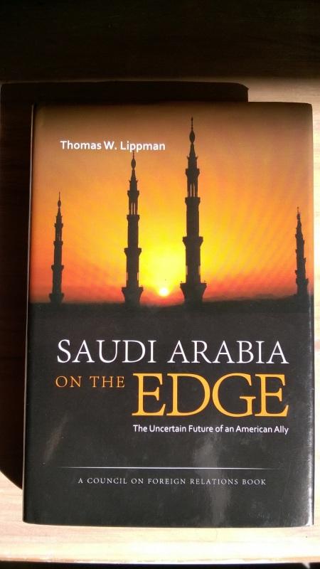 Saudi Arabia on the Edge Cover